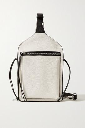Rag & Bone Elliot Textured-leather Backpack - Ivory