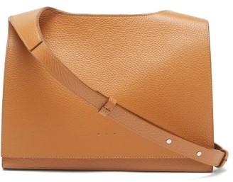 Aesther Ekme Messenger Grained-leather Cross-body Bag - Tan