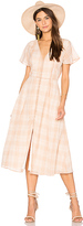 Privacy Please Reed Dress in Tan. - size S (also in )