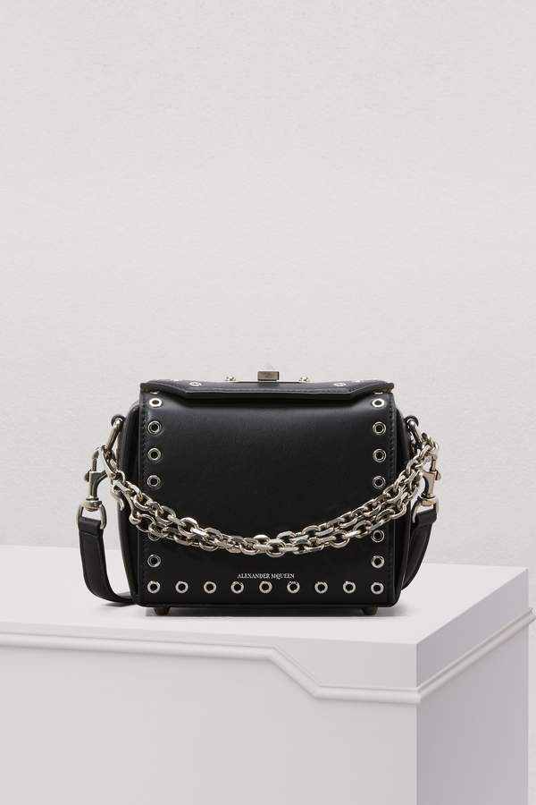 Alexander McQueen Mini Box Bag with Grommets