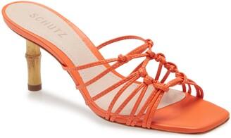 Schutz Dileni Strappy Mule Sandal