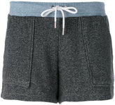 MAISON KITSUNÉ patch pocket shorts - women - Cotton - XS