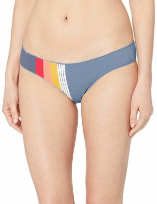 Rip Curl Junior's Beach Street Cheeky Hipster Bikini Bottom Swim Suit