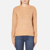 MinkPink Women's By The Fire Zip Back Sweatshirt