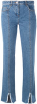 Courreges cut down jeans - women - Cotton - 34