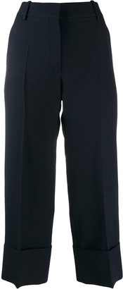 Valentino Tailored Cropped Trousers