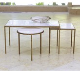 The Well Appointed House Global Views Hammered Gold Table-Available in Three Different Sizes