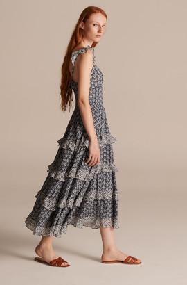 Rebecca Taylor La Vie Petula Ruffle Dress