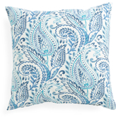 Made In USA 22x22 Paisley Print Pillow