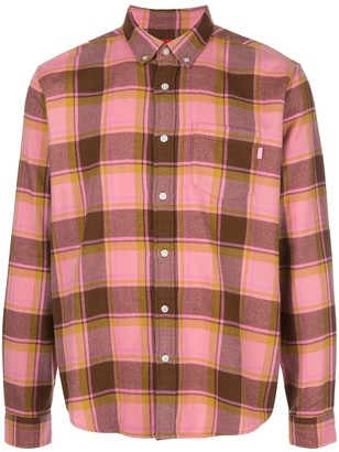 Supreme Plaid Button-Front Shirt
