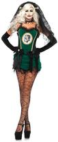 Leg Avenue Black & Green Deluxe Bride of Frankenstein Costume Set