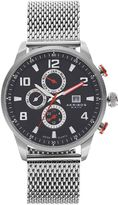 Akribos XXIV Men's Enterprise Stainless Steel Watch
