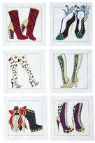 Kim Seybert Boots Cocktail Napkins, 6-Piece Set