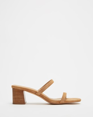 Spurr Women's Brown Heeled Sandals - Ruth Heels - Size 5 at The Iconic