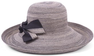 Physician Endorsed Women's Light Weight Southern Charm Classic Styled Packable Sun Hat with A Pretty Bow Rated UPF 50+