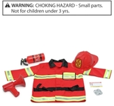 Melissa & Doug Toy, Best Friends Fire Chief Role Play Costume Set