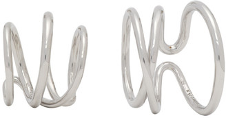 COMPLETEDWORKS Silver Bend In The River Ring Set