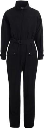Kenzo Coveralls Model Black Jumpsuit