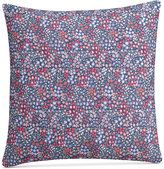 """Cupcakes And Cashmere Sketch Floral 18"""" Square Decorative Pillow"""