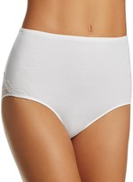 Only Hearts So Fine Lace-Trim High-Waist Brief #51500