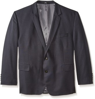 Haggar Men's Big-Tall Performance Tic-Weave Classic-Fit Suit Coat