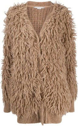 Stella McCartney Looped Stitch Long Cardigan
