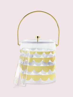 Kate Spade Scallop Ice Bucket