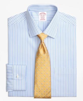 Brooks Brothers Madison Classic-Fit Dress Shirt, Non-Iron Tonal Bengal Stripe