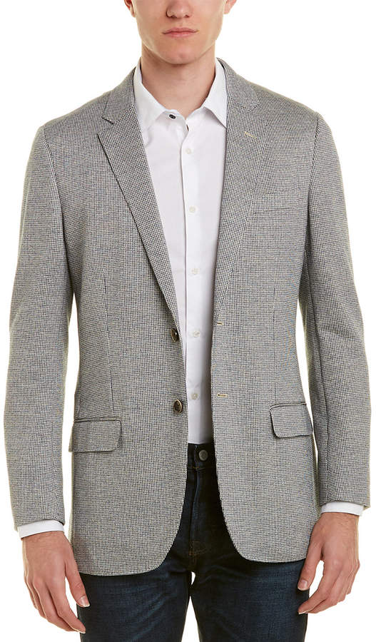 Brooks Brothers 1818 Milano Fit Linen-Blend Sportcoat