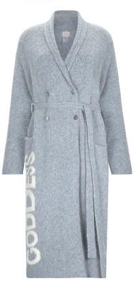 Goddess Breakfast Coat - Light Gray