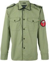 Marc Jacobs patch detail military-style jacket - men - Cotton - 48