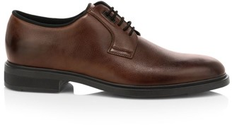 HUGO BOSS Thermo Regulation Leather Oxfords
