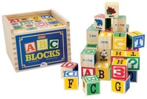 Schylling Alphabet Blocks 48 Pcs