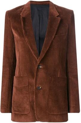 Ami Paris Single-Breasted Blazer Jacket