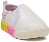 Osh Kosh Oshkosh Maeve Glitter Slip-On Sneaker (Baby & Toddler)