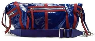 Isabel Marant Nawey Patent-leather Bag - Womens - Blue