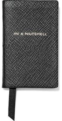 Smythson In A Nutshell Wee Printed Textured-leather Notebook