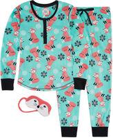 Pj Couture Fleece Pant Pajama Set-Juniors