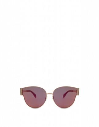 Moschino Bijou Chain Metal Sunglasses