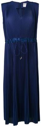 Paul Smith Pleated Sleeveless Midi Dress