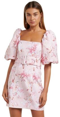 Forever New Ashley Puff Sleeve Mini Dress