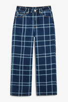 Thumbnail for your product : Monki Mozik check jeans