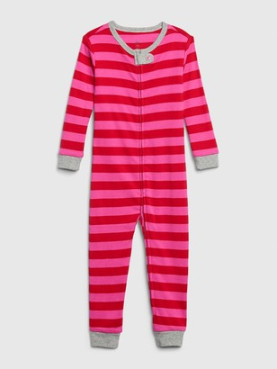 Gap babyGap Stripe Footless One-Piece