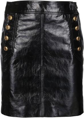 Givenchy High Waisted Mini Skirt