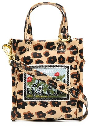 VIVETTA Leopard-Print Tote Bag