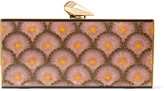 Kotur Levin printed acrylic clutch