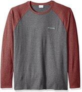 Columbia Men's Big Ketring Raglan Long Sleeve Shirt