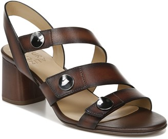 Naturalizer Leather Open-Toe Slingback Sandals- Alicia