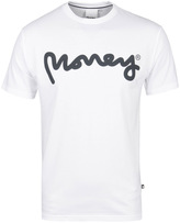 Money Signature Ape White Crew Neck T-shirt