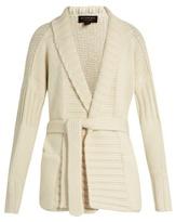Burberry Tie-waist cashmere cardigan